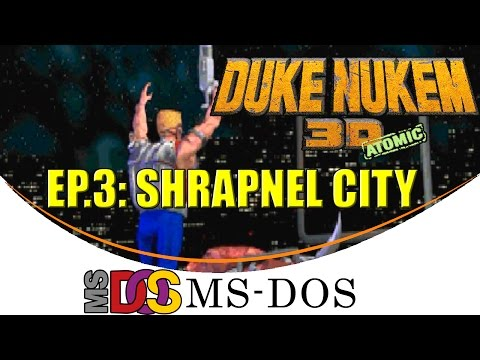 "Duke Nukem 3D: Atomic ""Ep. 3: Shrapnel City"" [MS-DOS]"