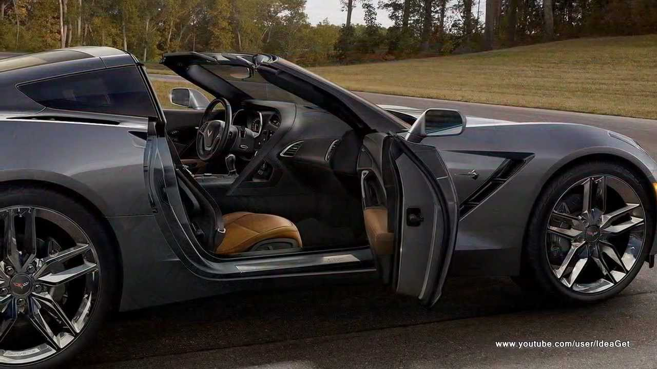 2014 Chevrolet Corvette C7 Stingray Interiors And