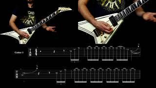 EXMORTUS - INTO THE MAW (INTRO GUITAR LESSON)