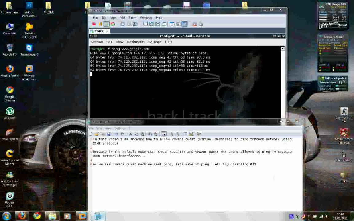Eset Smart Security and VMware PING DOESNT WORKS [SOLVED ... Vmware Ping