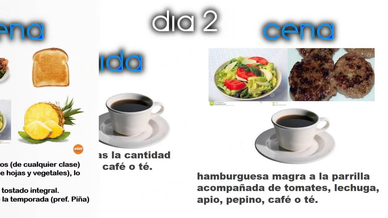 Dieta disociada de 14 dias