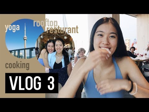 VLOG 3 - YOGA, COOKING, KOST ROOFTOP RESTAURANT | Itsyvn