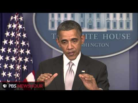 President Obama Announces Gun Policies Task Force