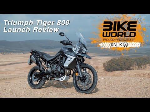 2018 Triumph Tiger 800 Launch Review (Bike Devil Sponsored)