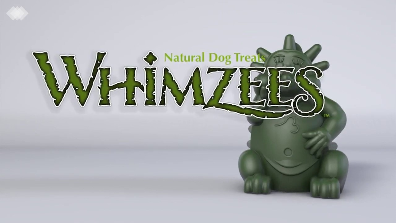 Snacks dentales para perros Whimzees