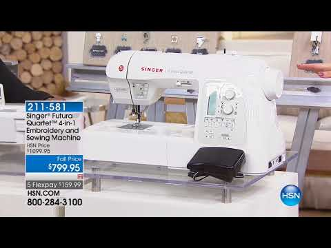 HSN | Sewing Solutions featuring Singer 09.06.2017 - 02 PM