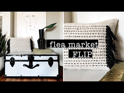 FLEA MARKET FLIP // DIY Home Decor on a BUDGET