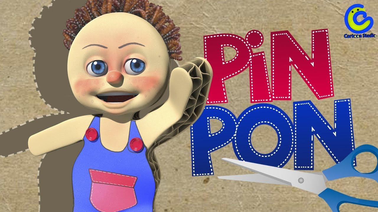 Pin pon es un mu eco v deos infantiles para ni os - Para ninos infantiles ...