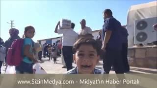 Midyat'taki Sığınmacı Kampı Kapatıldı