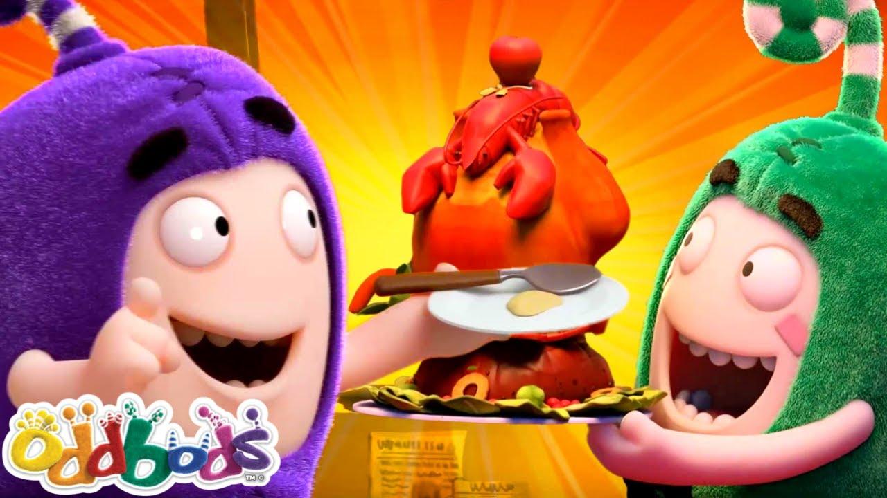 Makan Bersama Teman | Oddbods | BARU | Kartun Lucu Untuk Anak