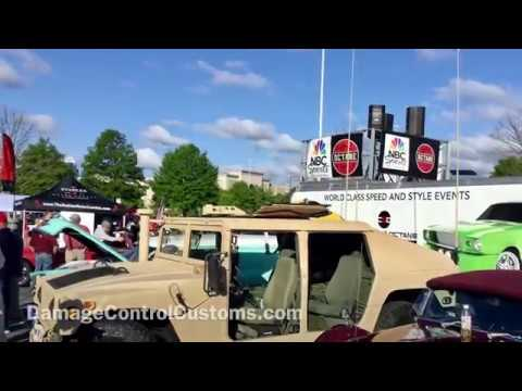 How to install a turret hatch for your HMMWV / HUMVEE
