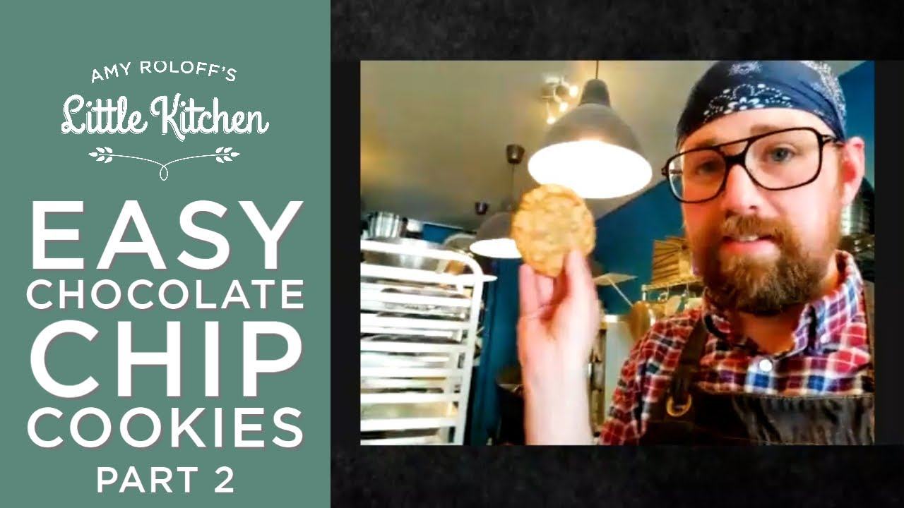 Amy Roloff Making Easy Chocolate Chip Cookies w Alex Wilson Part 2