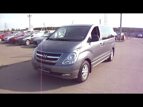 2011 Hyundai H1.Start Up, Engine, and In Depth Tour.