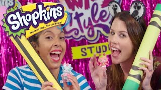 SHOPKINS | Wild Style Studio with SANDRA FROM SANDAROO KIDS!!!