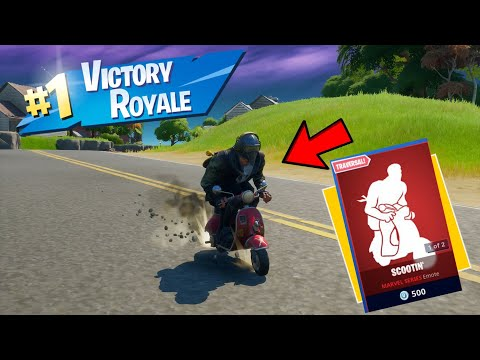 Winning A Game Of Fortnite By Scooting?
