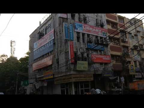 UPSC preparation hub (old Rajendra Nagar, Karol bagh, Delhi). @ 6 am