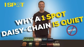 Why a 1 SPOT Daisy-Chain is Quiet.