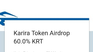 KARIRA TOKEN AIRDROP | FREE COIN | KARRA NEW TOKEN | NO INVESTMENT | ONLINE MONEY  | MY ETH WALET |