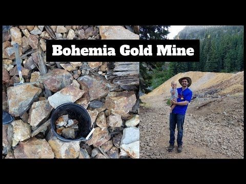 Rockhounding at Bohemia Gold Mine, Oregon
