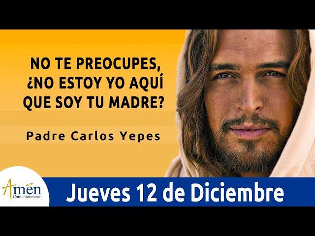 Evangelio de Hoy Jueves 12 de Diciembre de 2019 l Padre Carlos Yepes