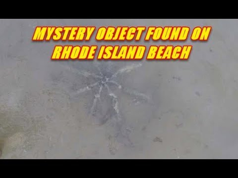 RHODE ISLAND Mysterious Object off Westerly Beach Continues to puzzle everyone!