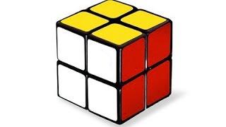 Видео-урок по сборке кубика 2x2.