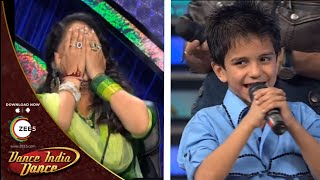 Sachin's BEAUTIFUL Shayari For Geeta Maa - DID L'il Masters Season 3