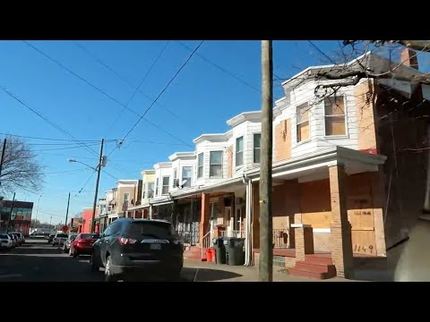 STREETS OF CAMDEN, NEW JERSEY