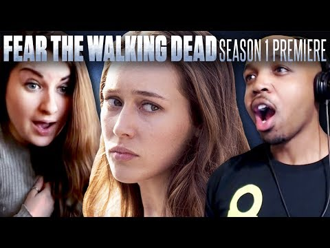 Fear The Walking Dead: Season 1 Episode 1 - Fan Reaction Compilation!