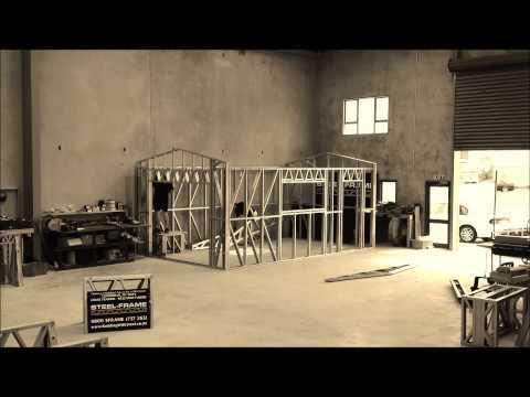 Steel Frame Single Garage