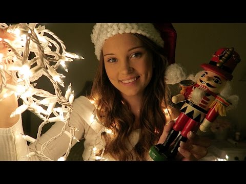 ASMR Tapping Christmas Decorations