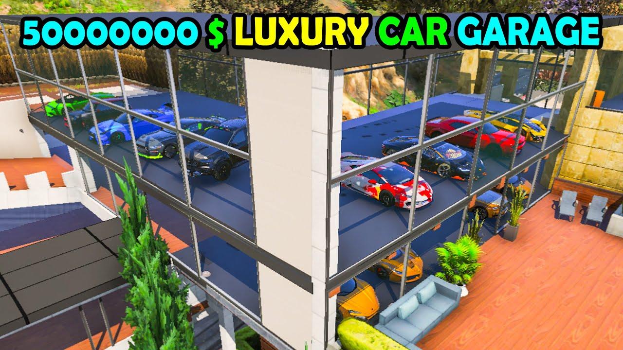 FRANKLIN ന്റെ LUXURY CAR GARAGE | MILLION DOLLAR CAR GARAGE | GTA 5 | AR7 YT