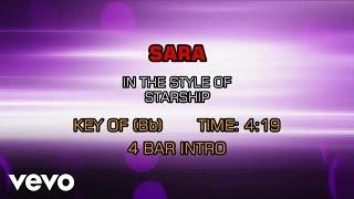 Starship - Sara (Karaoke)