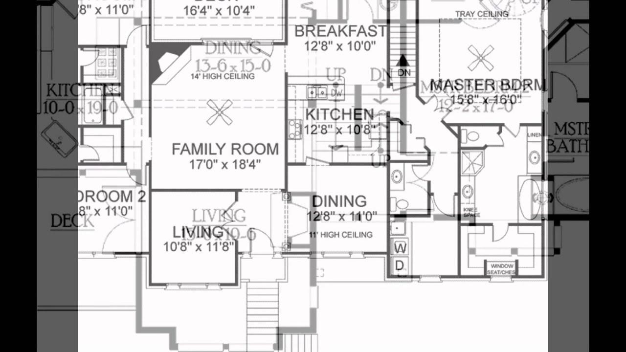 split level house plans YouTube – Split Level Modular Homes Floor Plans