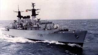HMS BROADSWORD THE FALKLANDS WAR