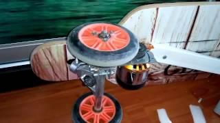 Электро-лонгборд 280 кв \10А\ч -21 в  - сделай сам видео - ссылки +схема DIY