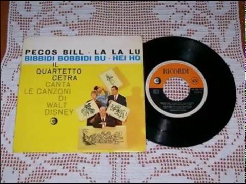 Pecos Bill - Quartetto Cetra (1961)