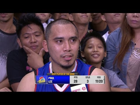 Best Player: Paul Lee | PBA Governors' Cup 2018
