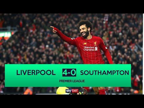 Liverpool 4-0 Southampton | Liverpool Dominate As They Score Four Goals To Beat Southampton