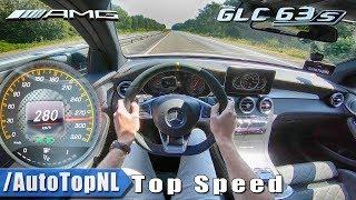 Mercedes AMG GLC 63 S 510HP   AUTOBAHN POV 280km/h TOP SPEED by AutoTopNL