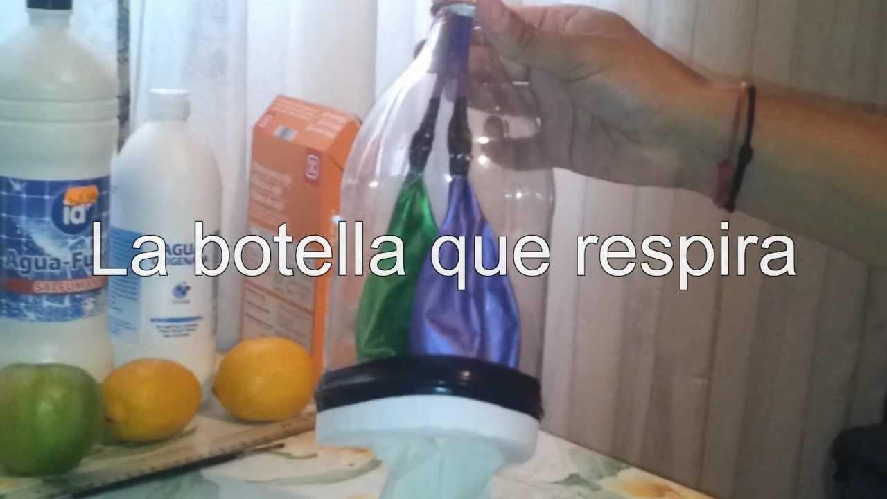 Experimento De La Botella