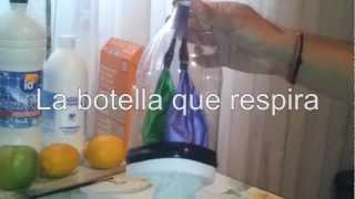 La botella que respira - Respiración pulmonar (Experimentos Caseros)