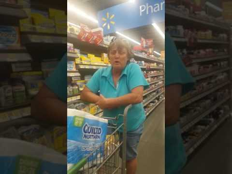 Racist lady at Wal-Mart