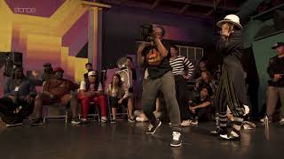 Leah Roman & Dread vs Natsuna & Lil B - Finał Bonnie & Clyde na Diggs Deeper 5