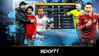 Deutsch-Englische Duelle im Achtelfinale der Champions League | SPORT1 - DER TAG