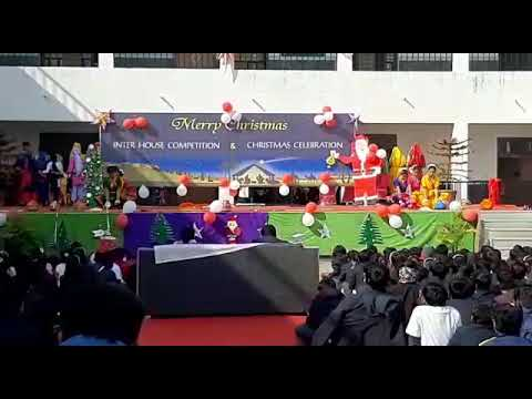 """dance on the theme of """"Indian cultural dance"""" in st anselm school swm"""