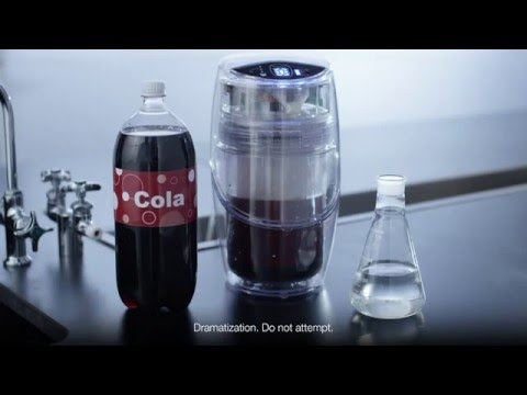eSpring by Amway turns cola into water