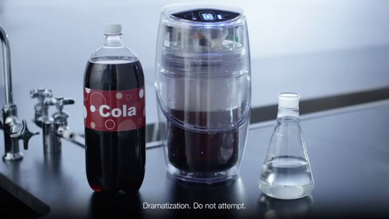 Espring By Amway Turns Cola Into Water Youtube