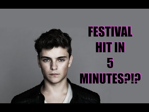 WATCH MARTIN GARRIX MAKE A FESTIVAL HIT IN UNDER FIVE MINUTES [ADE 2017]