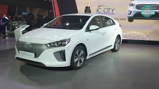 Hyundai Ioniq Electric and Hybrid - Auto Expo 2018 (Interior and Exterior Walkaround)